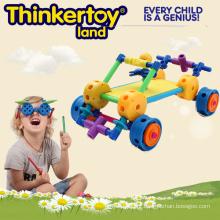 Aprenda por padrões Brinquedo de construção de plástico para menino