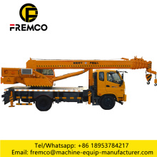 12 ton Small Cargo Crane Trucks for Sale