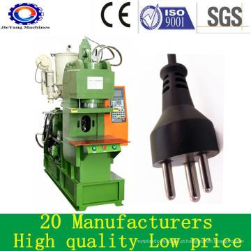 Máquina plástica de moldagem por injeção de PVC para Plug