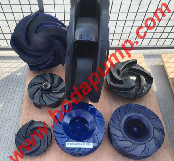 PU SLURRY PUMP PARTS