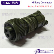 MIL-C-5015 2 Sockets MS3106A10SL-4S Military connector
