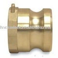 Brass quick disconnect coupling type A