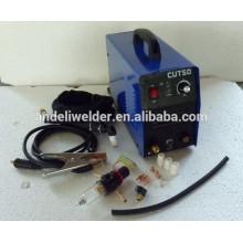 Venta caliente de Alta eficiencia molinillo de calidad portátil 1 fase 220 volts cortador de aire de plasma 50ampere