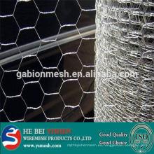 La venta caliente galvanizado / PVC cubrió la fábrica hexagonal del acoplamiento de alambre del pollo