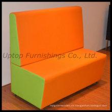Comercial modificado moderno sofá de la cabina del restaurante (SP-KS189)