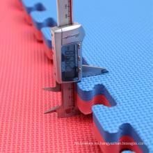 100cmX100cm Rosa / bule 20mm Jigsaw Mat para la venta