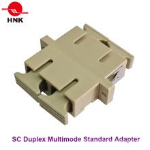 Sc Duplex Multimode Standard Kunststoff Faseroptik Adapter
