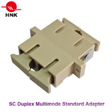 Sc Duplex Multimode Standard Fiber Optic Adapter