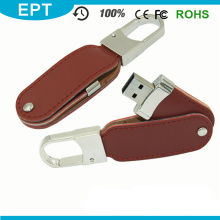 Wholesale Promotional Leather USB Flashn Pen Drive for Free Sample