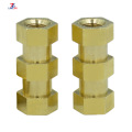 Brass Hexagonal flange nuts