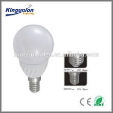 Brilho elevado 3W 5W 7W 8W 9W 12W Bulbo do diodo emissor de luz. E27 E14 B22 levou luz de bulbo