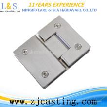 BJ-019 abrazaderas de vidrio de acero inoxidable / herrajes para puertas de vidrio