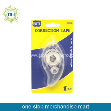 White Plastic Correction Tape