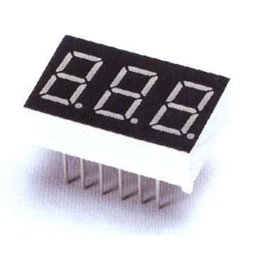 Triple Digit LED Display