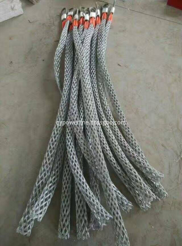 Cable Pulling Mesh Socks