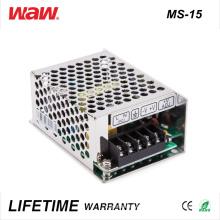 Controlador Ms-15 SMPS 15W 24V 0.6A Ad / DC LED