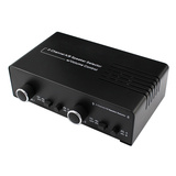 2 Channel Speaker Selector with Volume Control