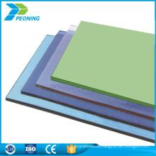 ULTRAVIOLETA la lámina plástica dura barata de la hoja de la policarbonato de la difusión