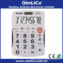 Patent led display desktop calculator with led backlight DS-828