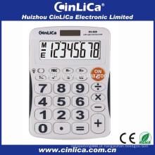 Patente levou display desktop calculadora com led backlight DS-828