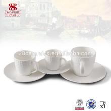 Royal feine Porzellan kleine Kaffeetasse und Untertasse für Espresso eingestellt