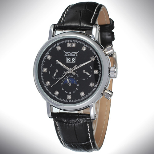 Alloy Case OEM / ODM Mineral Glass Wrist Watch