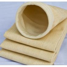 Bolsa de filtro de aire de polvo no tejido perforada con aguja P84