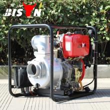 BISON CHINA TaiZhou Bomba de agua diesel de alta presión de 4 pulgadas Bomba de motor de agua