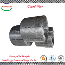 Chinese manufacturer supply metal alloy , FeSi / ferro silicon alloy powder cored wire
