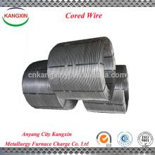 Fabricante chinês de fornecimento de liga de metal, FeSi / fio de liga de silício ferro em pó