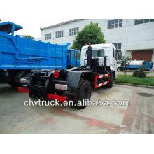 DFL 4 * 2 único braço roll off caminhão de lixo com caixas