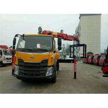 Guindaste do caminhão de Dongfeng com o guindaste 6-8Ton