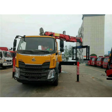 Grúa de camiones Dongfeng con grúa de 6-8 toneladas