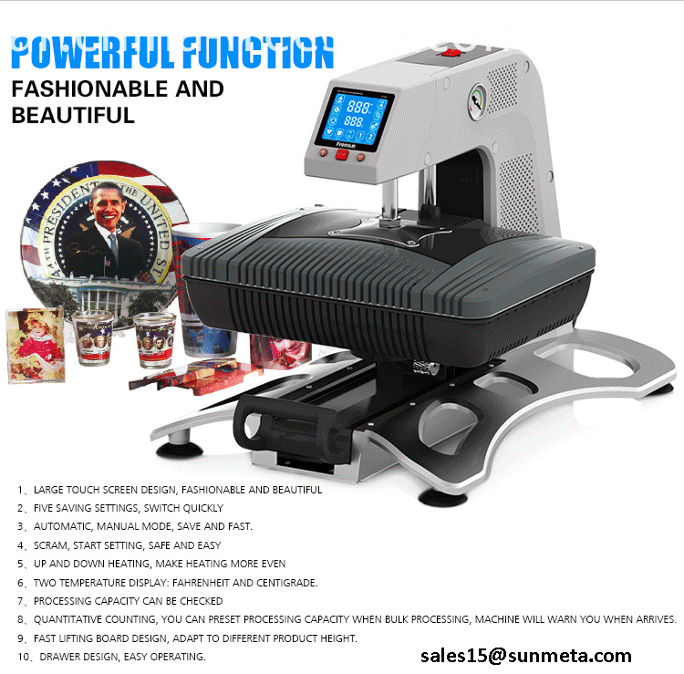 FREESUB Sublimation Machine Create Your Own Case