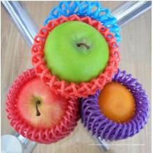 La fábrica suministra blanco negro verde rojo amarillo azul Color de grado alimenticio plástico neto fruta embalaje