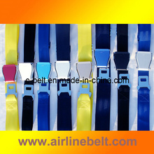 Car Seat Belt Airplane Buckle Metal Belt (EDB-13020843)