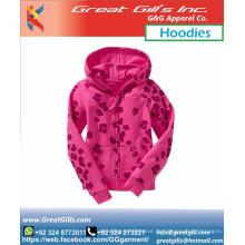 Benutzerdefinierte Großhandel Blank Pullover Hoodies Frauen Damen Mädchen