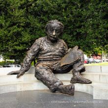 Statue en bronze Einstein Memorial sur mesure de haute qualité