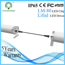 Luz do diodo emissor de luz da UE-Stanadard 1500mm IP65 60W Epistar Tri-Proof