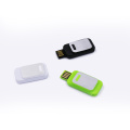 Plastic Sliding Usb Flash Drive with Logo Printed