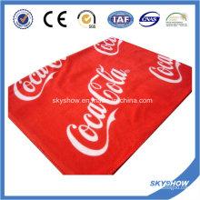 Manta de lana impresa de Coca Cola (SSB0187)