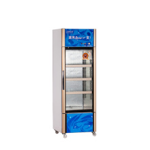 210L Vertical up Unit Opening Single Door Showcase