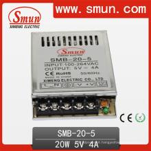 20W Ultra-Thin Switching Power Supply 5V4a / 12V1.7 /24V0.85A
