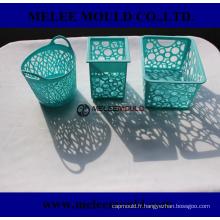 Moule de panier de table en plastique pour le stockage