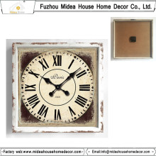 Shabby Chic Square Wall Clock