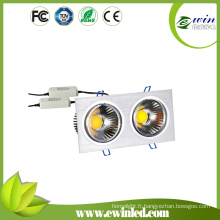3 ans de garantie 20W COB chaud blanc LED Downlights