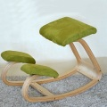 Ergonomic Wooden Kneel Health Office Kneeling Chair