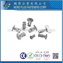 Taiwan Stainless Steel Aerospace Fastener Aerospace Screws Aerospace Casting