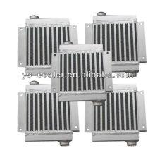 screw compressor heat exchanger / hydraulic oil cooler