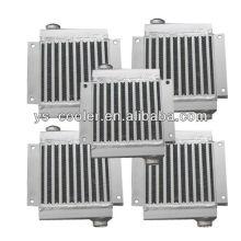Compressor de parafuso permutador de calor / resfriador de óleo hidráulico